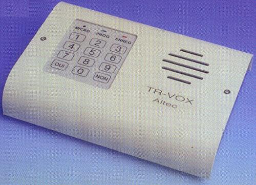 transmetteur telephonique d alarme altec tr vox. Black Bedroom Furniture Sets. Home Design Ideas